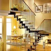 Модульные лестницы на второй этаж для коттеджа в Жлобине